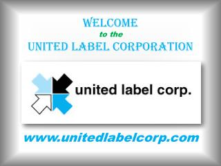 Custom Labels for All Your Company's Needs