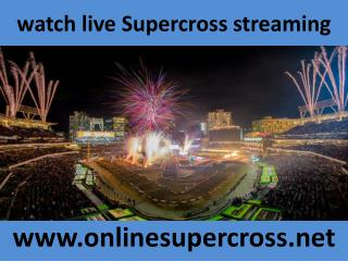 watch live Supercross streaming