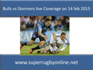 Bulls vs Stormers Live Stream 2015)Watch Online~![720HD]
