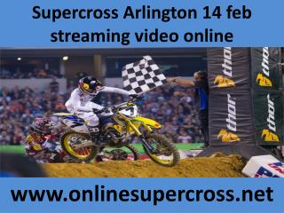 watch Supercross Arlington online racing live here