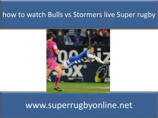 Watch Bulls vs Stormers Live Stream Rugby