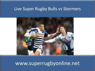 watch Bulls vs Stormers live Super rugby