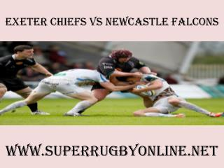 Live rugby Chiefs vs Newcastle Falcons