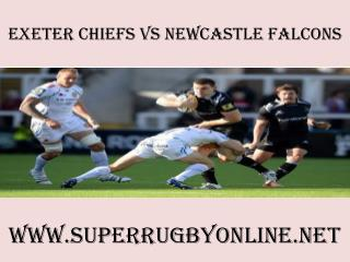 Chiefs vs Newcastle Falcons live rugby 14 feb 2015