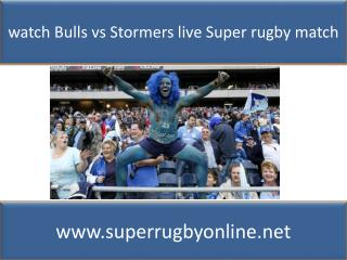 watch Super rugby Bulls vs Stormers online