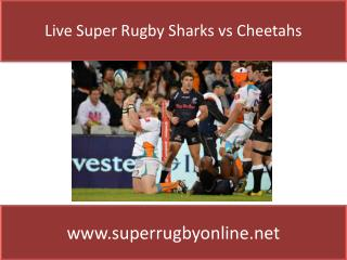Sharks vs Cheetahs Live Stream 2015)Watch Online~![720HD]