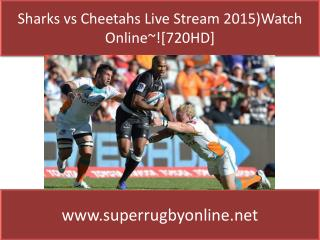 Live Super Rugby Sharks vs Cheetahs