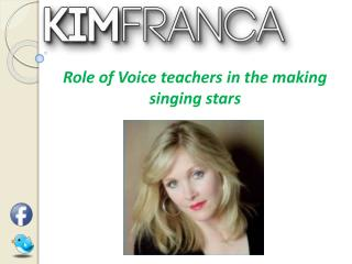 Role of Voice teachers in the making singing stars