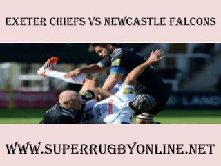 Chiefs vs Newcastle Falcons rugby live match 14 feb