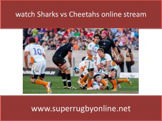 Sharks rugby Live on TV