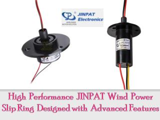 High Performance JINPAT Wind Power Slip Ring