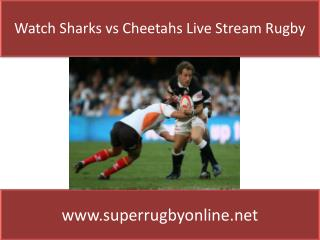 Sharks vs Cheetahs Live online Super Rugby