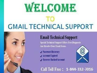 Gmail Customer Service 1-844-332-7016 Toll Free Number