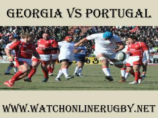 Georgia vs Portugal live rugby