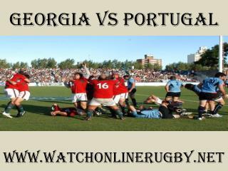 watch Georgia vs Portugal Rugby Match live