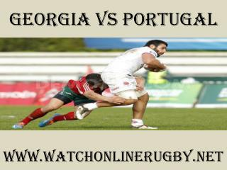 watch Georgia vs Portugal live rugby match