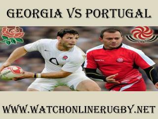 watch Rugby Match Georgia vs Portugal