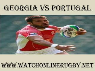 watch Rugby Georgia vs Portugal online live