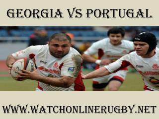 watch Rugby Georgia vs Portugal stream