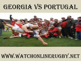 watch Rugby Georgia vs Portugal live match