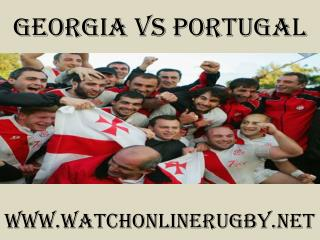 watch rugby Georgia vs Portugal online