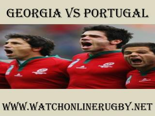 watch rugby Georgia vs Portugal live