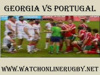 watch rugby Georgia vs Portugal live stream