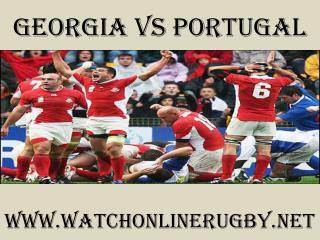 live rugby match Georgia vs Portugal