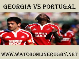 watch Georgia vs Portugal online rugby 2015