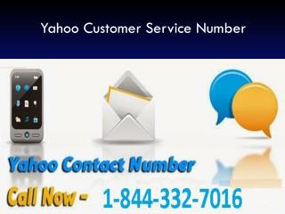 Contact 1-844-332-7016 for Unable to send and receive Yahoo