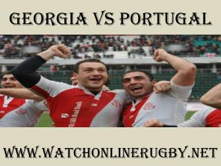 watch Georgia vs Portugal 6 Nations rugby live