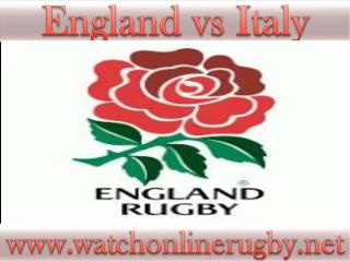 watch England vs Italy online