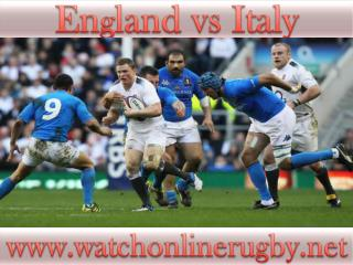 Live here >>>>> ((England vs Italy)) Rugby online live