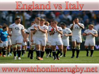 watch Rugby England vs Italy tv stream