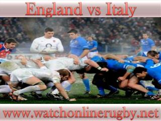 live England vs Italy stream online