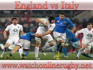 England vs Italy Six Nations