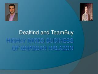 Highly rated business of Ghassan Halazon