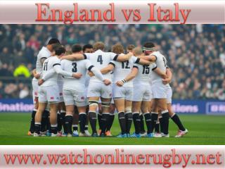 live England vs Italy online