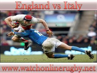 watch Italy vs England live rugby match