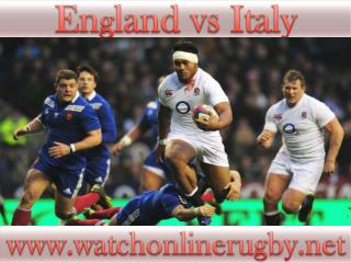 watch Italy vs England Rugby Match live