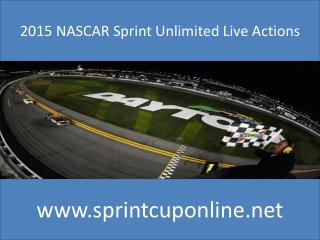 2015 NASCAR Sprint Unlimited Live Actions