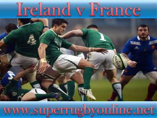 live Ireland vs France stream online
