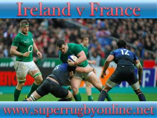watch Ireland vs France online rugby 2015