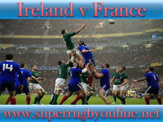 Ireland vs France Six Nations