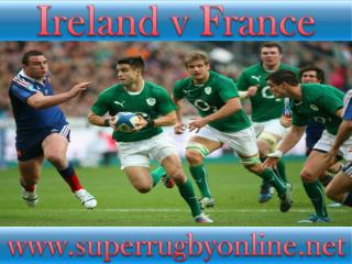 how to watch Ireland vs France online match on mac