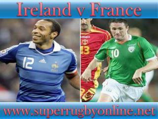 Ireland vs France