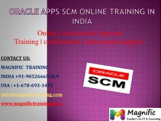 oracle scm online training in uk