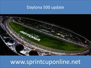 Daytona 500 Qualifying Sprint 14 feb