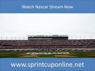 Nascar The Sprint Unlimited Free Stream