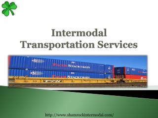 Intermodal Transportation Services